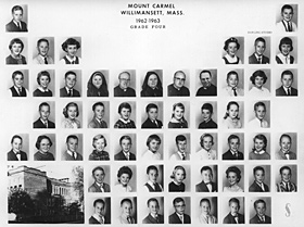 Mount Carmel School - Fourth Grade: 1963-1964